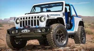 Jeep удивил четырьмя «пасхальными» внедорожниками