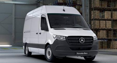 Mercedes-Benz отзывает в России огнеопасные фургоны Sprinter