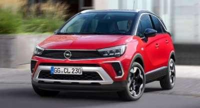 В России начались продажи нового кроссовера Opel Crossland