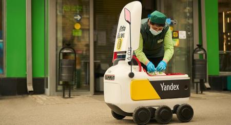 Шестиколесные роботы атаковали Москву, лишая работы пеших курьеров
