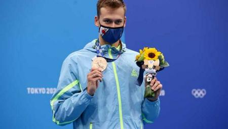 Украинский пловец Михаил Романчук завоевал «бронзу» на Олимпиаде