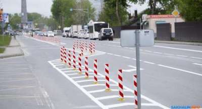 Власти Южно-Сахалинска отказались от «выделенки», так как она создает пробки