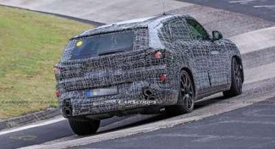 Баварцы подготовили к выпуску новейший кроссовер BMW X8