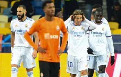Реал разгромил Шахтер в третьем туре Лиги Чемпионов: видео голов